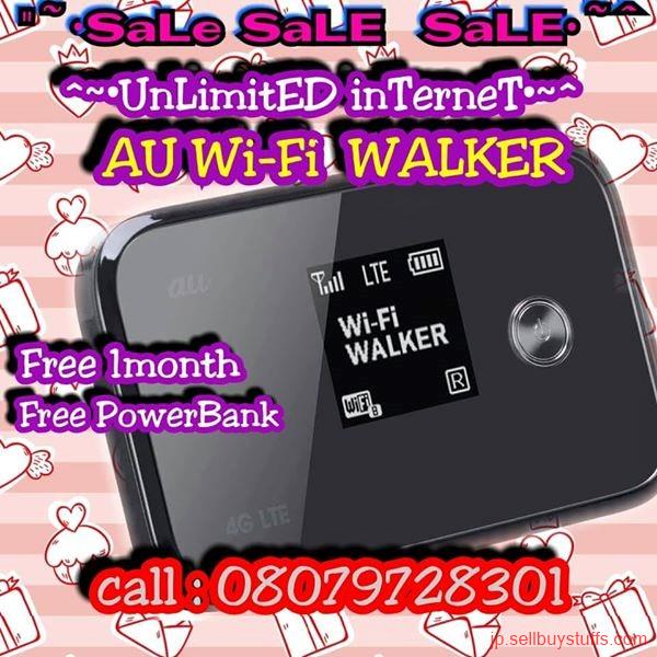 second hand/new: WIFI WALKER OPEN LINE POCKET WIFI