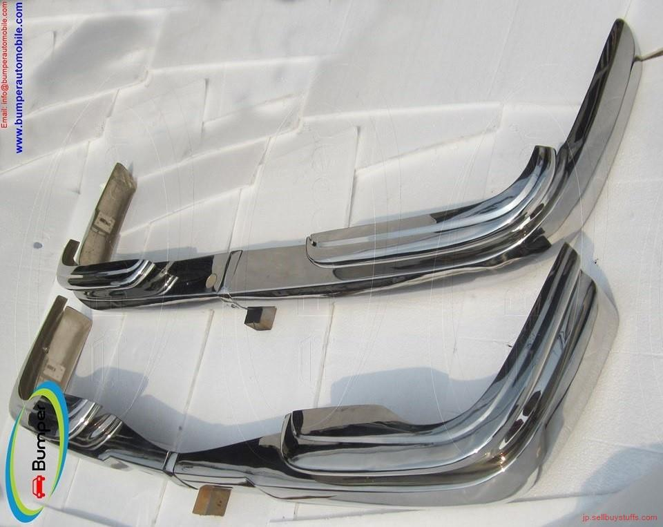 second hand/new: Mercedes W111 coupe bumper (1969-1971) stainless steel
