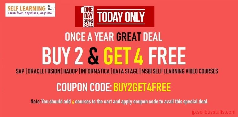 second hand/new: BUY 2 GET 4 FREE VIDEO Courses FREE