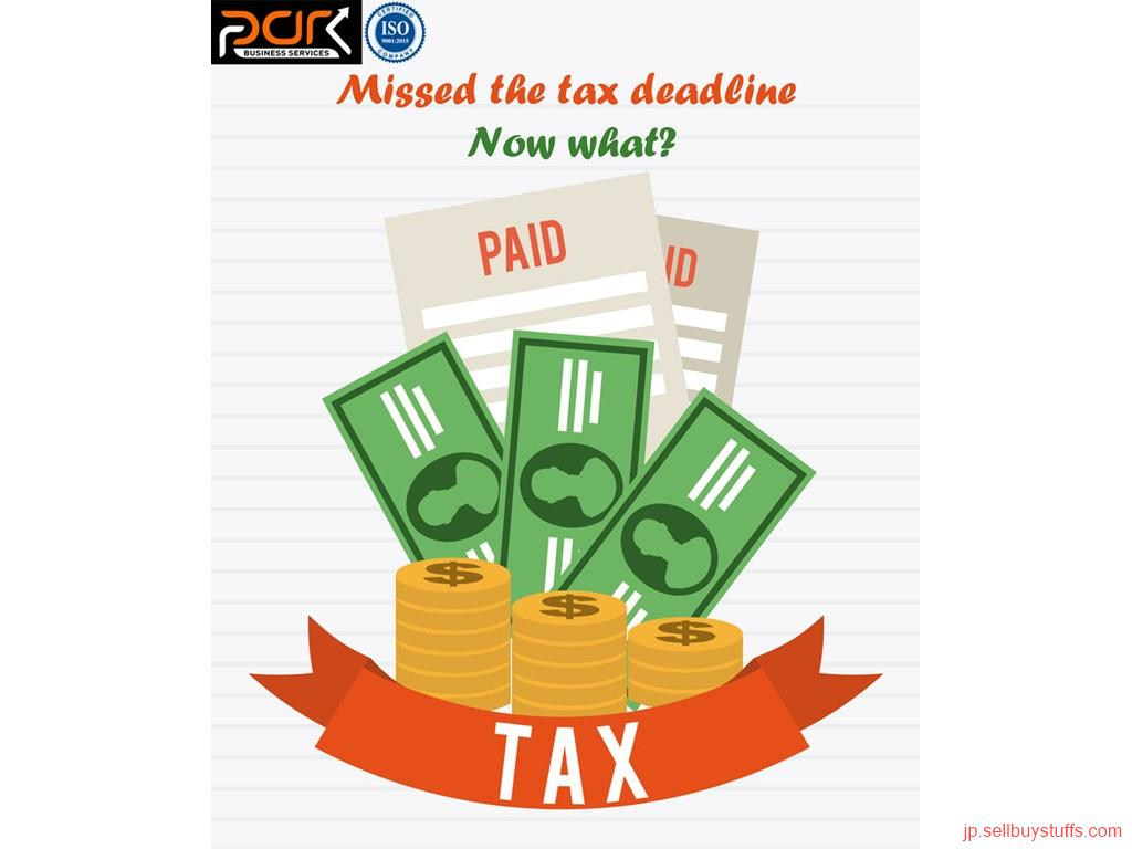second hand/new: Missed the tax deadline - Now what?