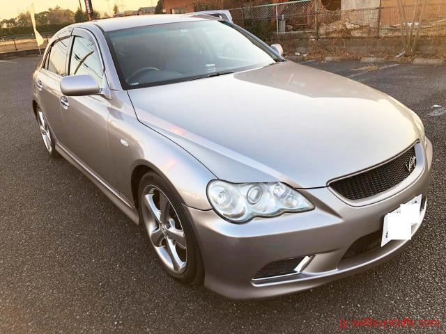 second hand/new: Toyota Mark X 250 G S PK Modelista Virtiga Shakin Available Tokyo Japan