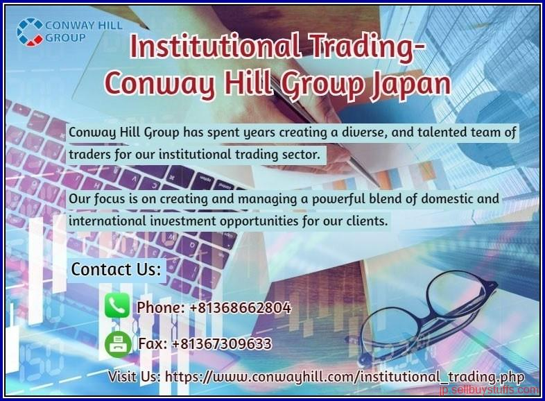 second hand/new: Institutional Trading- Conway Hill Group Japan