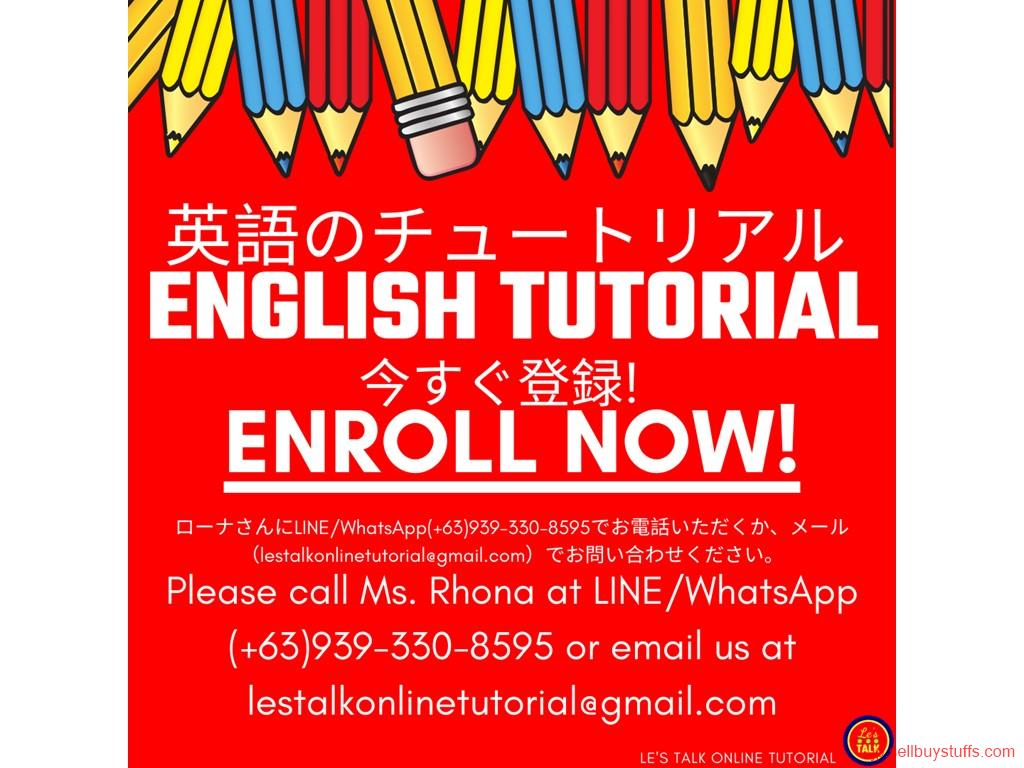 second hand/new: ENGLISH TUTORIAL ENROLL NOW!