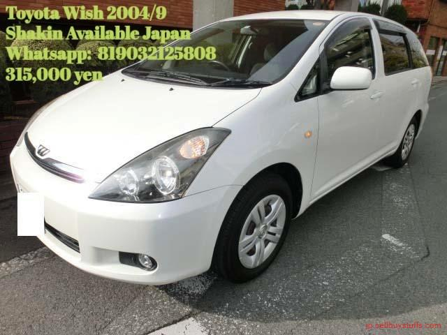 second hand/new: Toyoyta Wish 2004/9 X NEO Edition Shaken Available