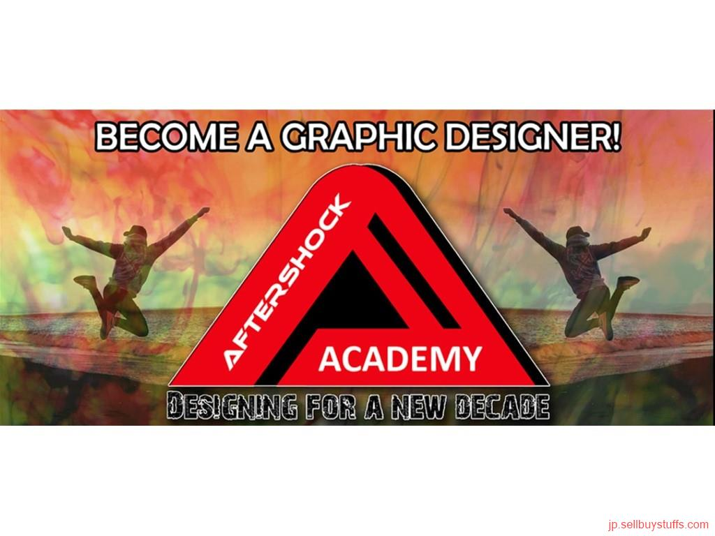 second hand/new: Learn Graphics Design - Aftershock Academy